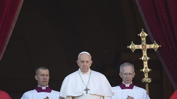 Urbi et Orbi: el papa Francisco pide esfuerzos para resolver los conflictos e injusticias del mundo