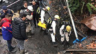 Zonguldak'ta bir madende patlama