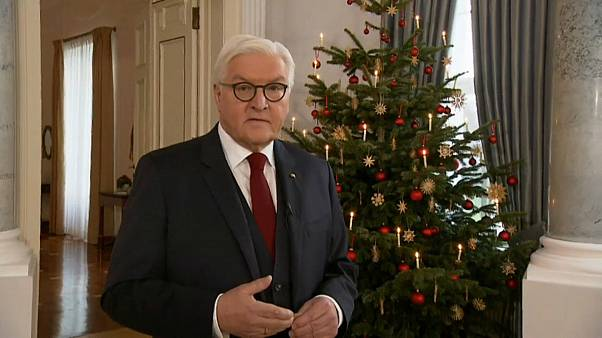 """El presidente alemán pide """"valor democrático"""""""