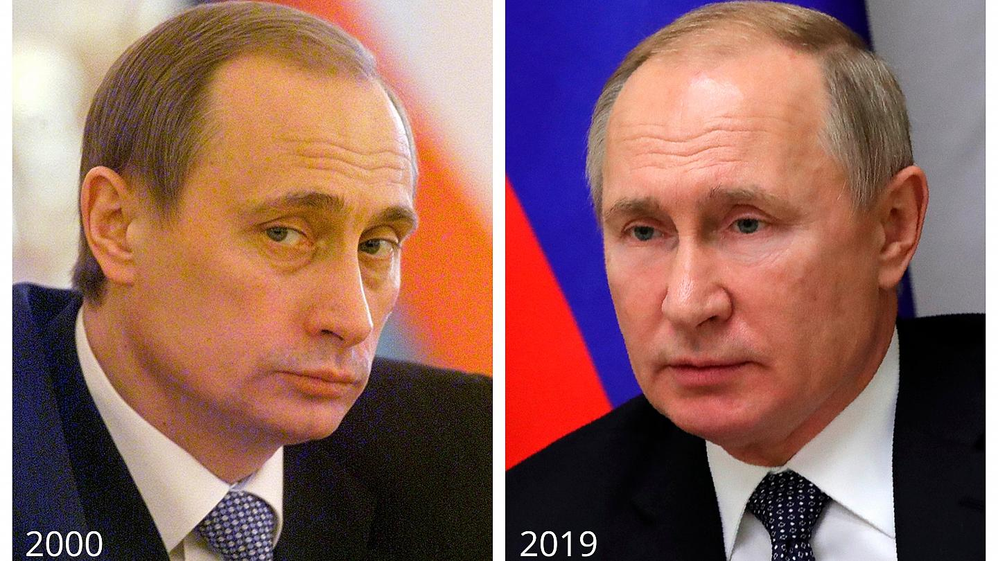 Vladimir Putin 20 Major Events In The Russian Leader S First 20 Years Euronews