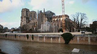 Nach Brandkatastrophe: Stille Nacht in Notre-Dame