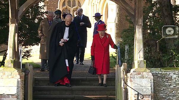 La reina de Inglaterra refleja en su discurso los altibajos familiares y políticos