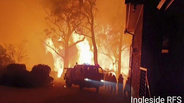 Buschbrände fordern 10. Todesopfer - Feuerwerk in Sydney findet statt