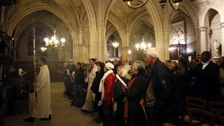 Notre Dame worshippers switched to the Saint-Germain l'Auxerrois church in Paris