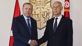 توافقهای حریم دریایی و امنیتی آنکارا با طرابلس؛ اردوغان به تونس رفت