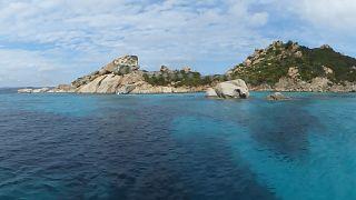 Una delle isole dell'Arcipelago di La Maddalena (no, non è in vendita)