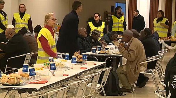 شاهد: عشاء عيد الميلاد في مسجد لشبونة المركزي