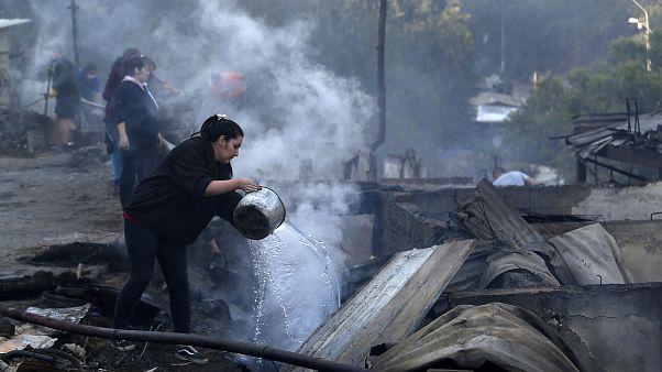 Χιλή: Κάηκαν 200 σπίτια στο Βαλπαραΐσο