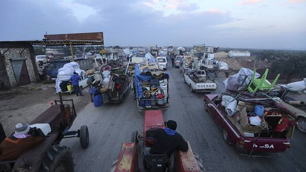 Syrie : l'exode massif des civils d'Idleb