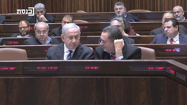 Netanyahu abandona un acto de campaña tras el lanzamiento de un misil desde Gaza