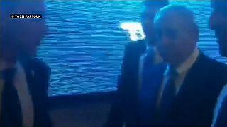 Rakete aus Gaza: Netanjahu muss bei Wahlkampf-Event in Bunker
