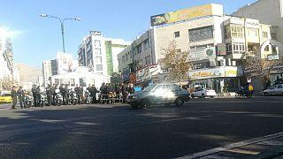 ممانعت نیروهای امنیتی ایران از برگزاری تجمعات در چهلم کشتهشدگان اعتراضهای آبان