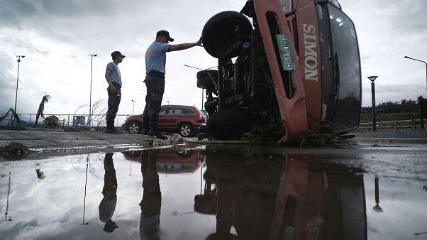 Philippinen: Mindestens 17 Tote durch Taifun