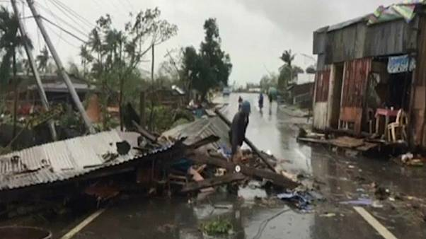 At least 28 dead in Philippines Christmas typhoon