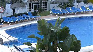 La piscina de Mijas en la que murieron tres personas reabre