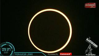 Eclipse annulaire : quel spectacle!