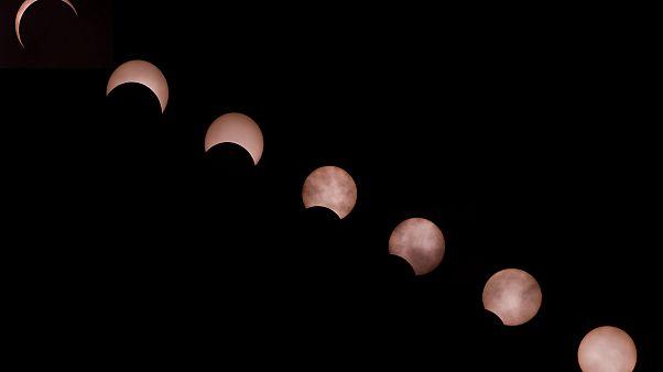 FOTO L'ultima eclissi solare del decennio: un anello di fuoco nel cielo