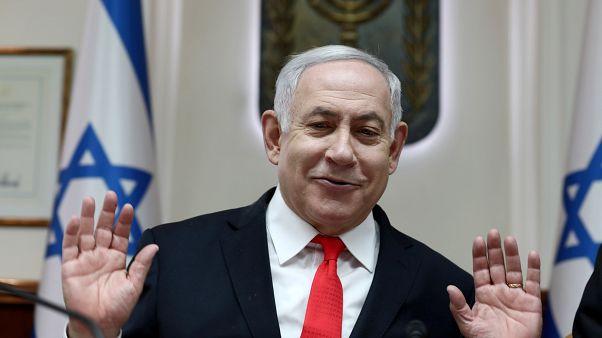 Israel bombardea Gaza después de que Netanyahu tuviese que abandonar un mitin por un ataque aéreo