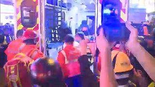Hongkong: karácsonyi ételosztás és súlyos sérültek