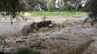 Κύπρος: Εκτεταμένες ζημιές λόγω της κακοκαιρίας - Στα λευκά ντύθηκε το Τρόοδος