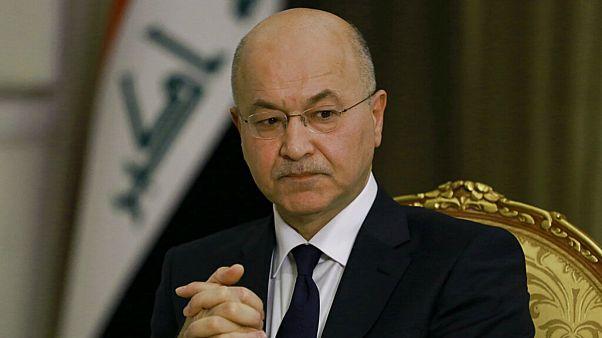 بحران سیاسی عراق؛ برهم صالح تهدید به استعفا کرد