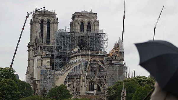 Több idő kell a párizsi Notre-Dame felújításához, mint Macron ígérte