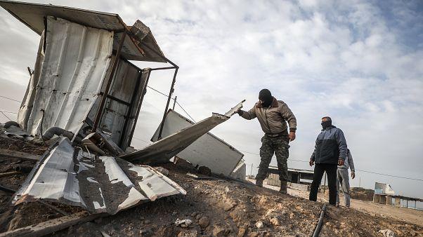 İsrail, Gazze'den fırlatılan rokete karşılık hava saldırısı düzenledi