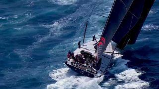 Segel-Regatta Sydney-Hobart gestartet