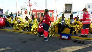 Rescatados 90 inmigrantes en las costas españolas