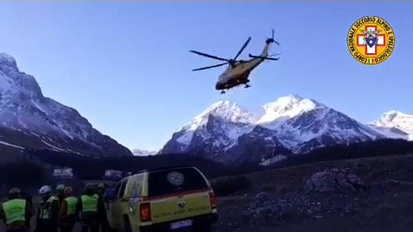 3 Bergsteiger in Italien tödlich verunglückt