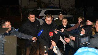 Serbia's director of police, Vladimir Rebic