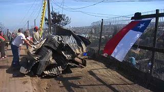 ویرانی صدها خانه در شیلی بر اثر آتشسوزی جنگلها
