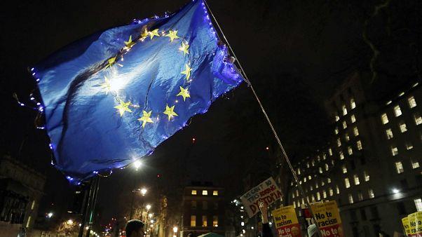 جانب من مظاهرة مناهضة للبريكست في لندن 13 ديسمبر 2019