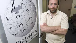 Wikipedia founder Jimmy Wales on Dec. 1, 2006.
