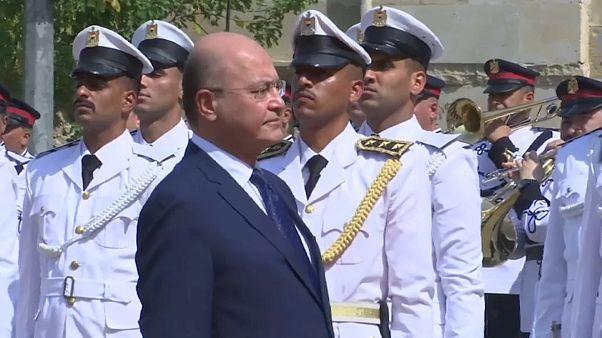 Irakischer Präsident Barham Salih erklärt Bereitschaft zum Rücktritt