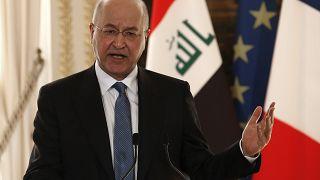 El presidente de Irak Barham Saleh