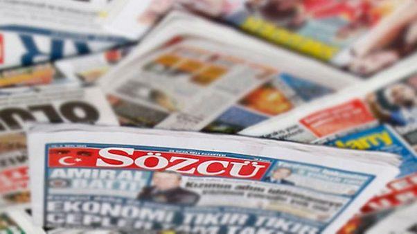 Sözcü gazetesi yazarları Emin Çölaşan ve Necati Doğru'ya 3 yıl 6 ay hapis cezası