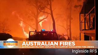 """'Our crews are fatigued,"""" says Victoria fire chief as military is deployed as support"""