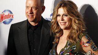 Tom Hanks és felesége, Rita Wilson