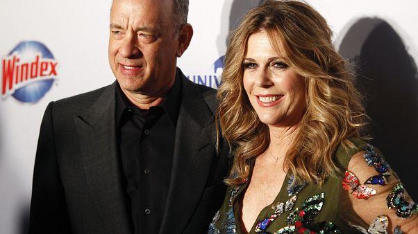 Ο Τομ Χανκς με τη σύζυγο του Ρίτα Γουίλσον