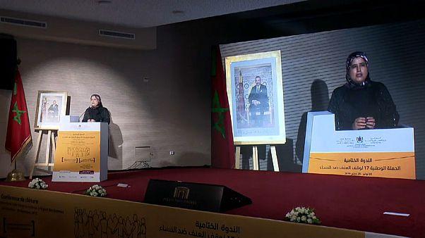 شاهد: فعاليات الحملة الوطنية لإنهاء العنف ضد المرأة في المغرب