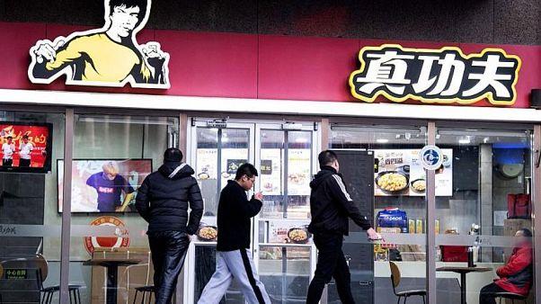 """أحد مطاعم سلسلة """"ريل كونغ فو"""" في بكين"""