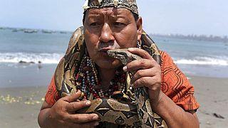 Békés évet jósolnak a perui sámánok