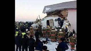 Repülőgép-katasztrófa Kazahsztánban