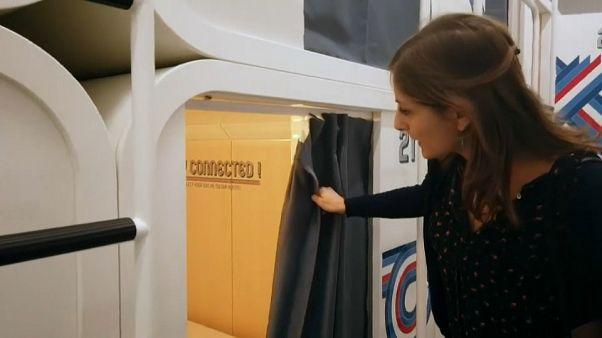 В Милане открылся первый капсульный отель