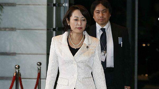 وزيرة العدل اليابانية ماساكو موري