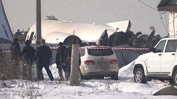 Αεροπορική τραγωδία με 12 νεκρούς στο Καζακστάν