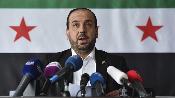 Suriye Muhalefeti Müzakere Yüksek Kurulu Başkanı Nasr Hariri