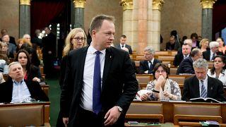 Kumin Ferenc a parlamentben