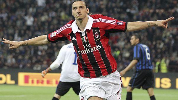 Zlatan Ibrahimovic está de regresso ao AC Milan